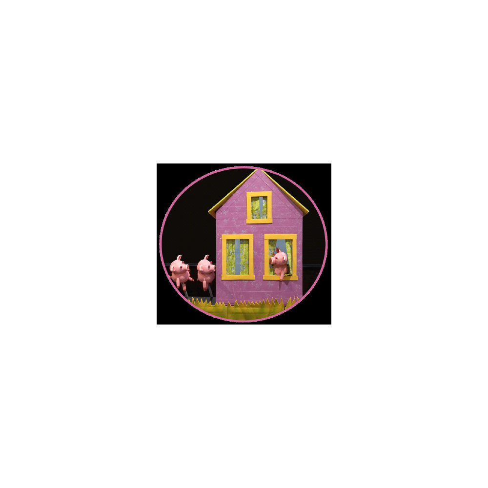 Crabgrass Puppet Theater presents The Three Little Pigs Build a Better House
